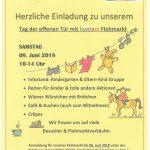 Kindergarten-Flyer