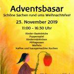 Plakat Adventsbasar2019